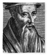 Guillaume Farel (1489-1565) Fleece Blanket