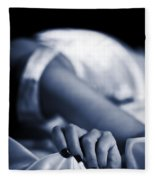 Hand Fleece Blanket