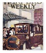 Harpers Weekly, 1913 Fleece Blanket