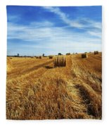 Hay Baling Fleece Blanket