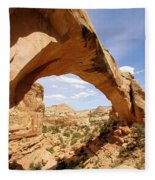 Hickman Bridge Fleece Blanket