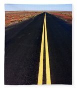 Highway To Nowhere Fleece Blanket