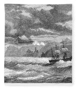 Hms Challenger, 1872-76 Fleece Blanket