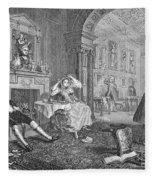 Hogarth: Marriage Fleece Blanket