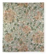 Honeysuckle Design Fleece Blanket