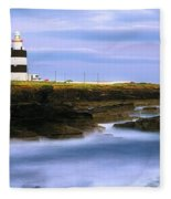 Hook Head Lighthouse, Co Wexford Fleece Blanket