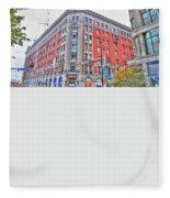 Hotel Lafayette  Fleece Blanket