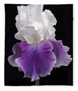 Iris 3 Fleece Blanket