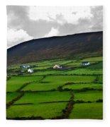 Irish Countryside Fleece Blanket