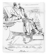 Isaac Disraeli (1766-1848) Fleece Blanket