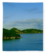Island Paradise Fleece Blanket