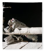 Iss Maintenance Fleece Blanket