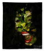 Ivy Glamour Fleece Blanket