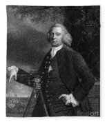 James Brindley (1716-1772) Fleece Blanket
