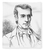 James K. Polk (1795-1849) Fleece Blanket