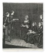 Jean Calas (1698-1762) Fleece Blanket