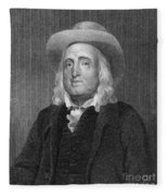 Jeremy Bentham (1748-1832) Fleece Blanket