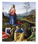 Jesus: Agony In The Garden Fleece Blanket