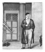 Johann Carl Friedrich Gauss, German Fleece Blanket