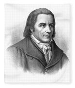 Johann Heinrich Pestalozzi, Swiss Fleece Blanket