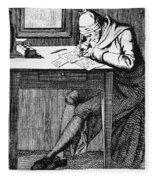 Johann Kaspar Lavater Fleece Blanket