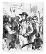 John Browns Raid, 1859 Fleece Blanket