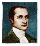 John Jay, American Founding Father Fleece Blanket