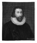John Winthrop (1588-1649) Fleece Blanket