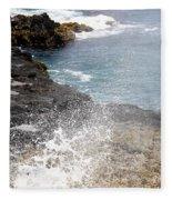Kauai Spray Fleece Blanket