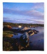 Kenmare Bay, Dunkerron Islands, Co Fleece Blanket