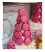 Laduree Macarons Fleece Blanket