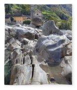 Lavertezzo - Ticino Fleece Blanket