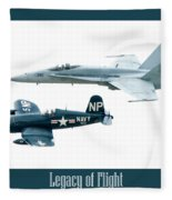 Legacy Of Flight Fleece Blanket
