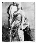 Lillian Russell (1861-1922) Fleece Blanket