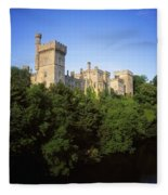 Lismore Castle, Co Waterford, Ireland Fleece Blanket