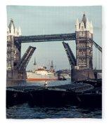London Tower Bridge Fleece Blanket