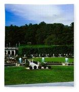 Longwood Gardens Fountain Garden Fleece Blanket