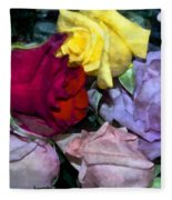 Look Of Romance Fleece Blanket