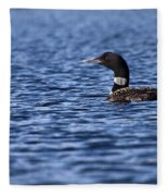 Loon Fleece Blanket