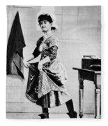Lotta Crabtree (1847-1924) Fleece Blanket