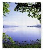 Lough Gill, Co Sligo, Ireland Irish Fleece Blanket