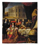 Louis Xiv (1638-1715) Fleece Blanket