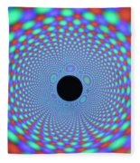 Magnetic Fields Fleece Blanket