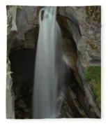 Maligne Canyon Fleece Blanket