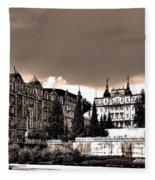 Marianske Lazne ... Fleece Blanket
