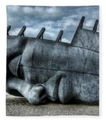 Maritime Memorial Cardiff Bay Fleece Blanket