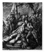 Marquis De Montcalm Fleece Blanket