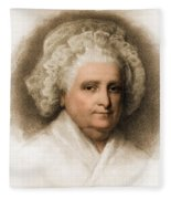 Martha Washington, American Patriot Fleece Blanket