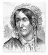 Mary Somerville, Scottish Polymath Fleece Blanket