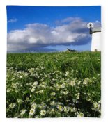 Millisle, County Down, Ireland Fleece Blanket
